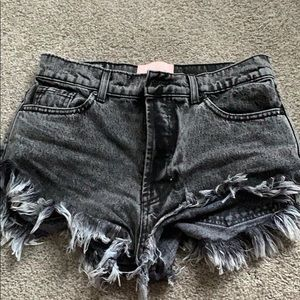 REVICE jean shorts